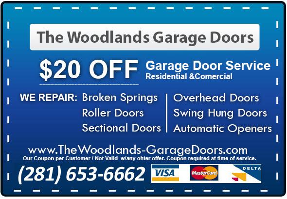 Discount Garage Door Repair The Woodlands